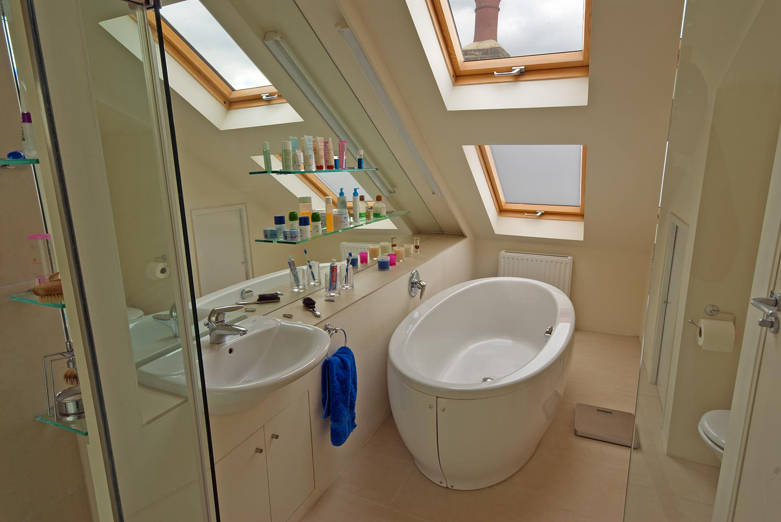 loft extension ensuite bathroom