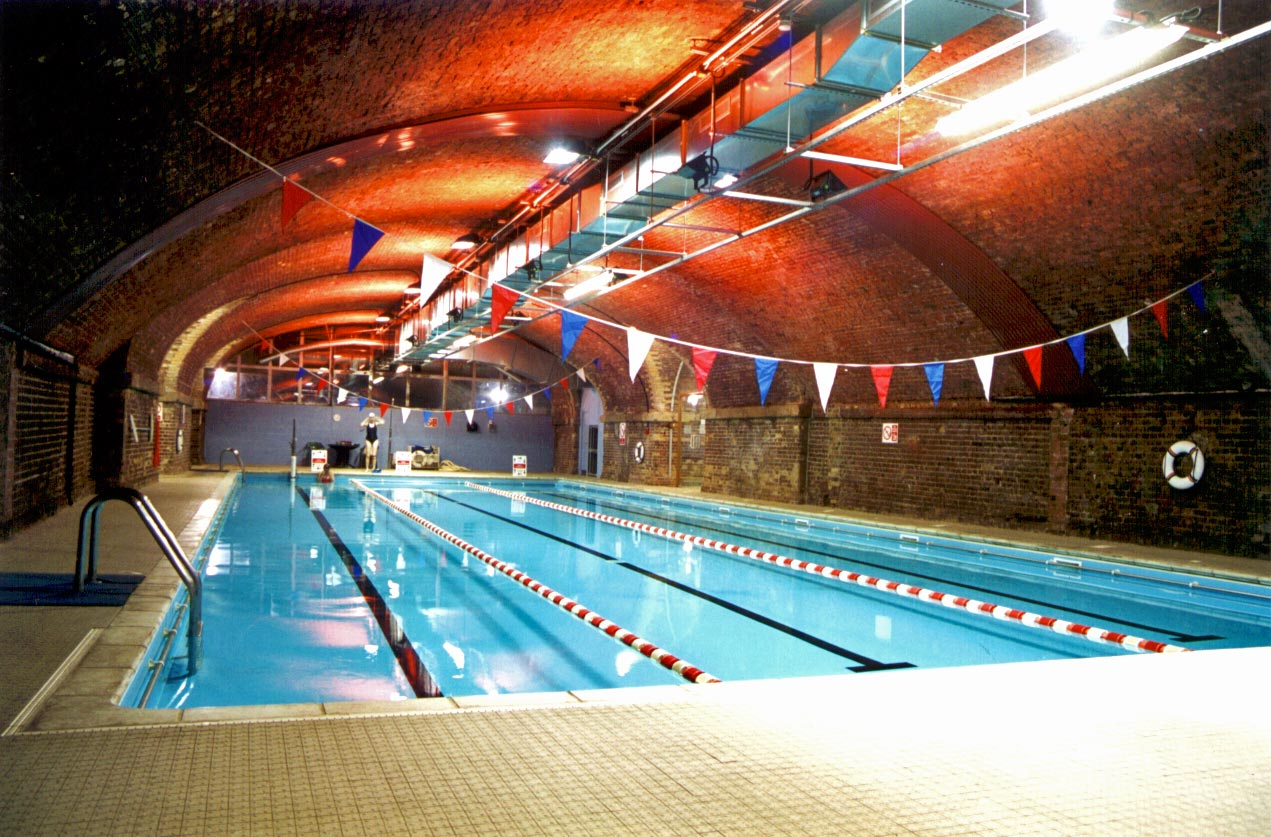 railway arches swimming pool