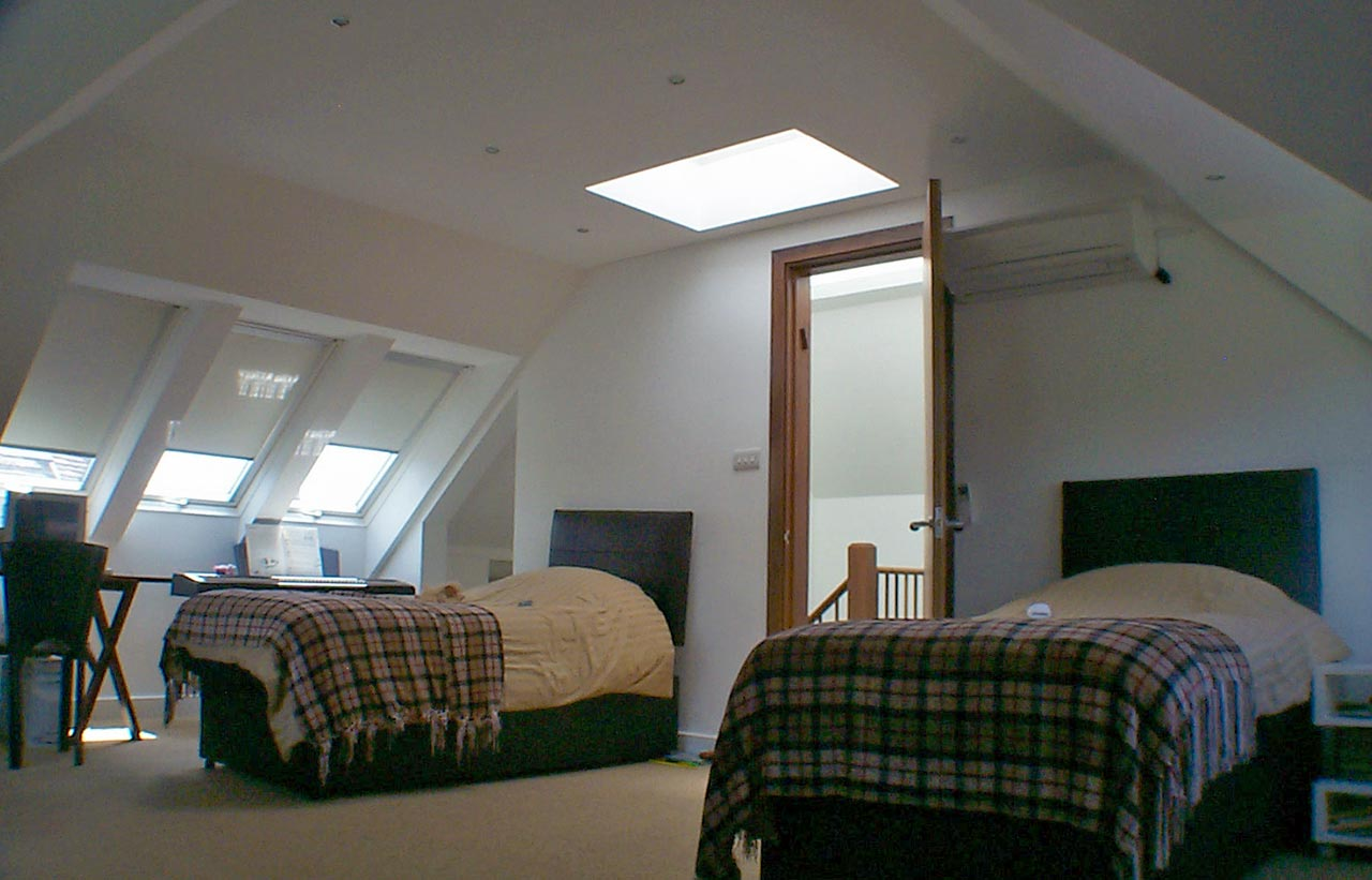 loft extension rooflights